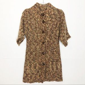 EUC Anthro Tabitha Season Stroll long sweater coat